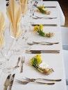 plate, restaurant, flowers