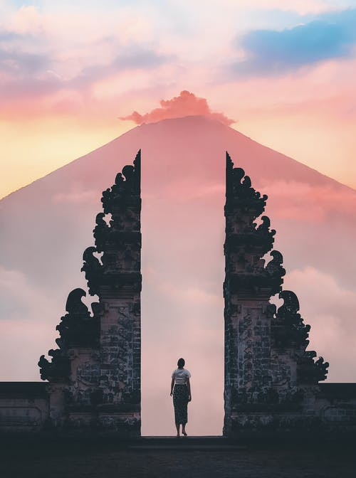 Photos gratuites de architecture, attraction touristique, aube, bali