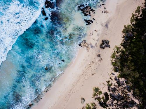 Ảnh lưu trữ miễn phí về bên bờ biển, bờ biển, cát, chụp ảnh bằng máy bay không người lái