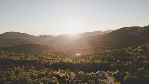 Foto profissional grátis de aerofotografia, alvorecer, amanhecer, ao ar livre