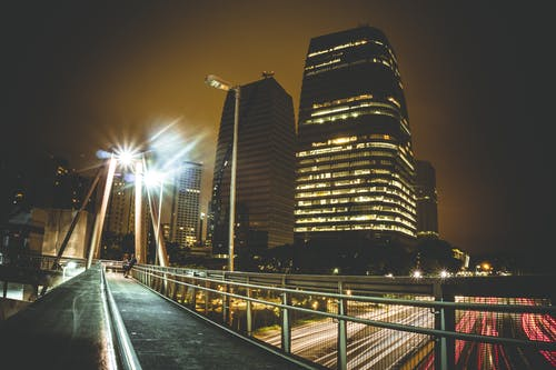 Fotos de stock gratuitas de arquitectura, calle, cámara rápida, carretera