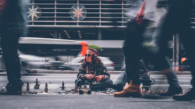 Free stock photo of city, road, man, people