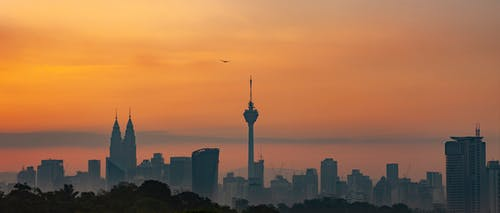 Fotos de stock gratuitas de amanecer kuala lumpur, Kuala Lumpur, torre de kuala lumpur, torres gemelas Petronas