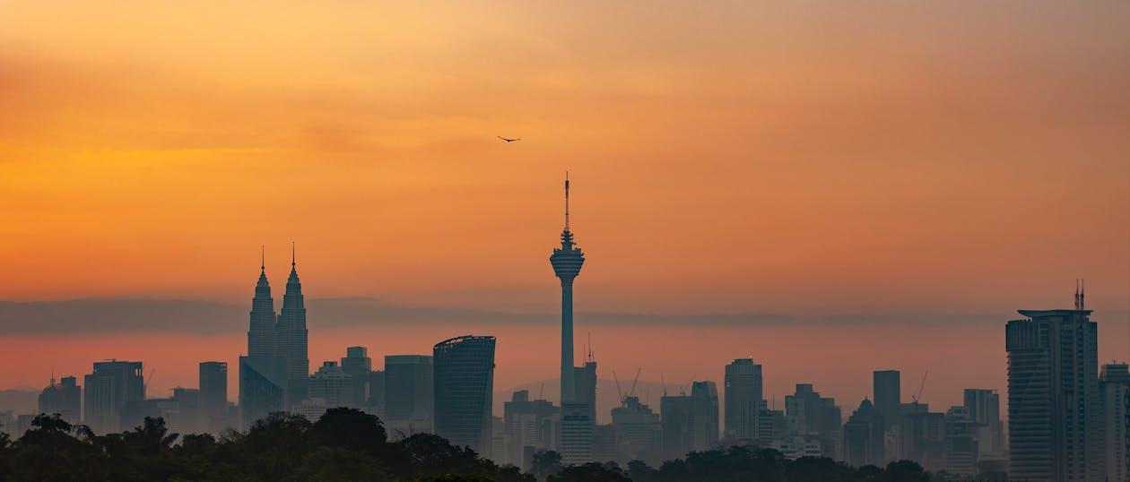 klip foto anda, Kuala Lumpur, matahari terbit kuala lumpur