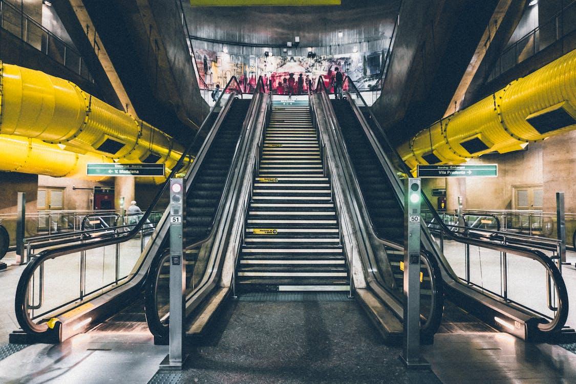 acél, alagút, állomás
