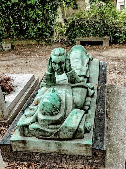 Fotos de stock gratuitas de arte de la cara, cabeza, cara, cementerio
