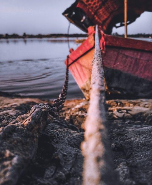 Gratis lagerfoto af båd, bådreb, bokeh, fokus