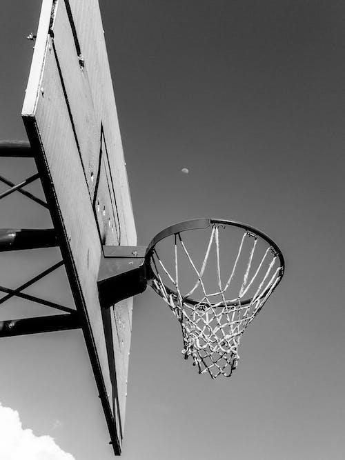ay, Basketbol, günün fotoğrafı, siyah arka plan içeren Ücretsiz stok fotoğraf