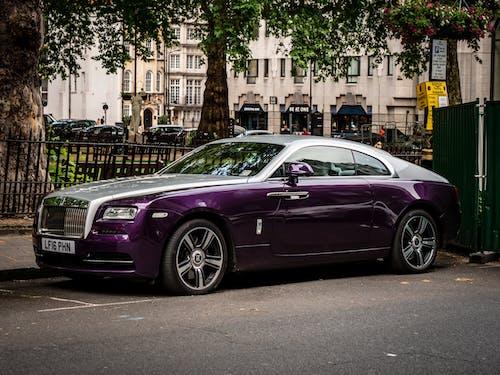 Δωρεάν στοκ φωτογραφιών με Rolls Royce, supercar, κομψότητα, μοβ
