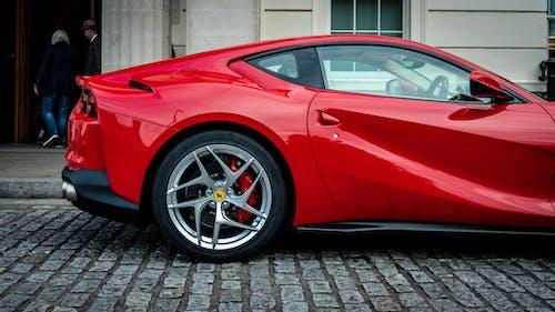 Δωρεάν στοκ φωτογραφιών με Ferrari, ferrari 812 superfast, supercar, κόκκινο αυτοκίνητο
