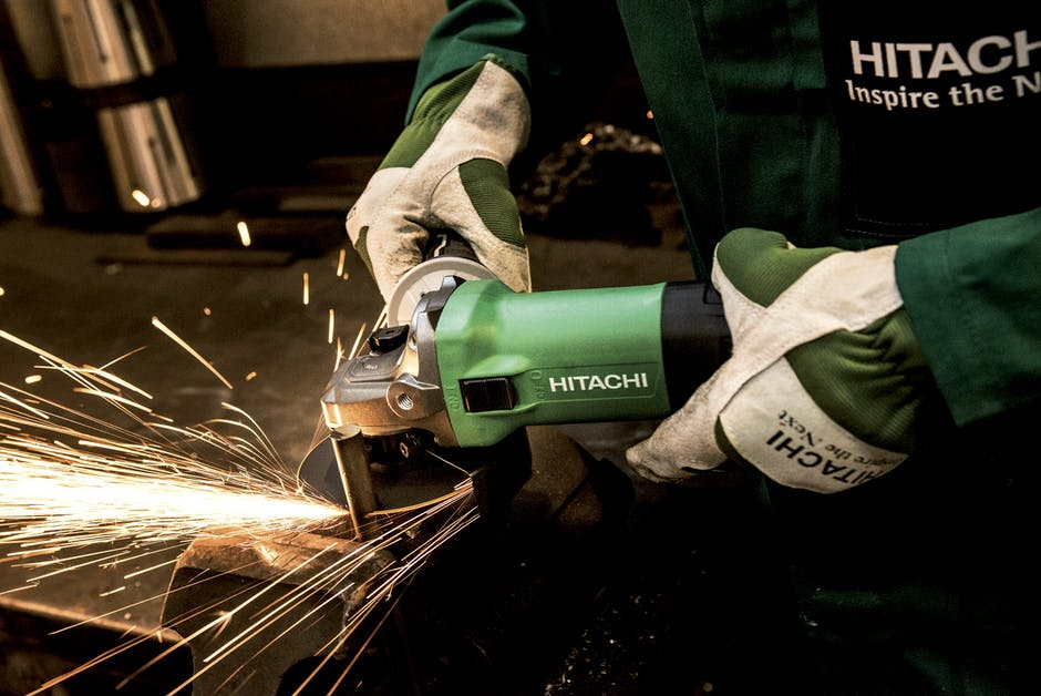 gloves, grind, grinder