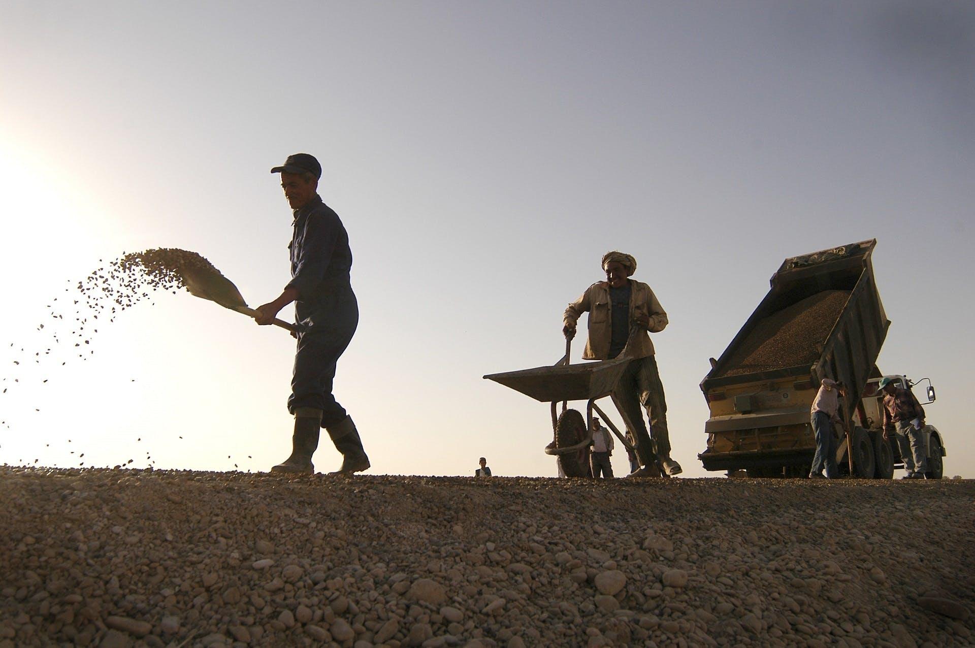 Free stock photo of build, building, construction, dump truck