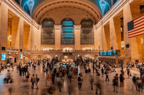 紐約, 紐約中央車站, 紐約城 的 免费素材照片