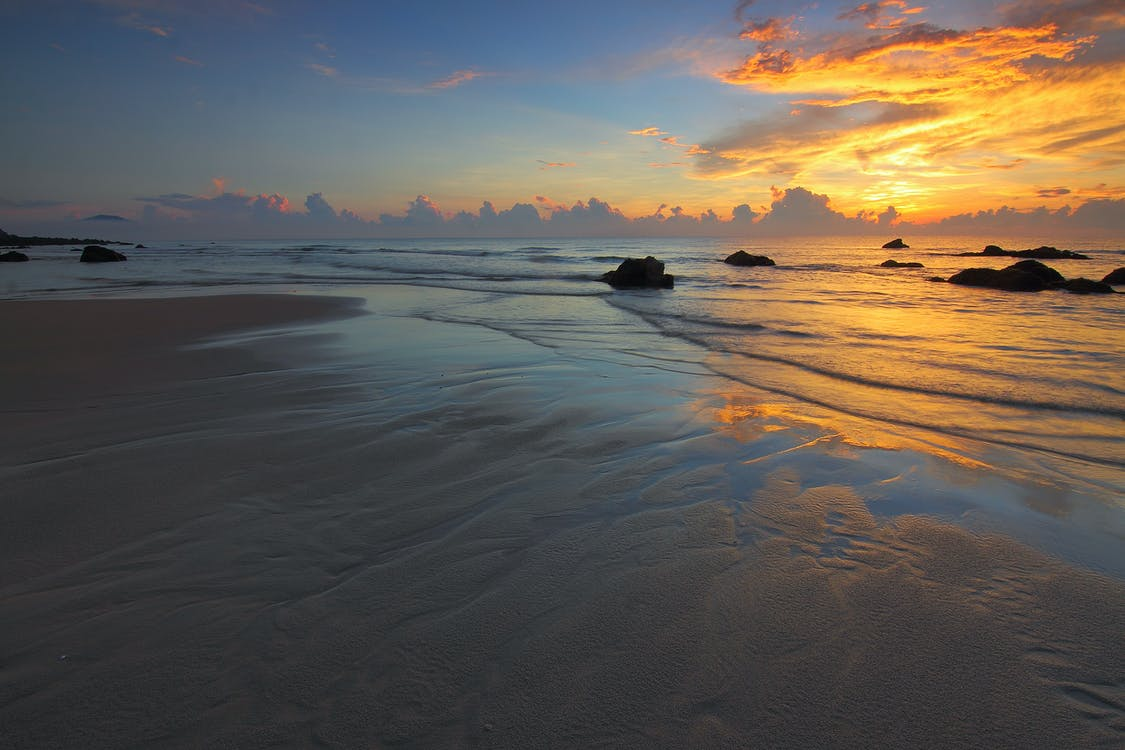 aallot, aamu, aamunkoitto