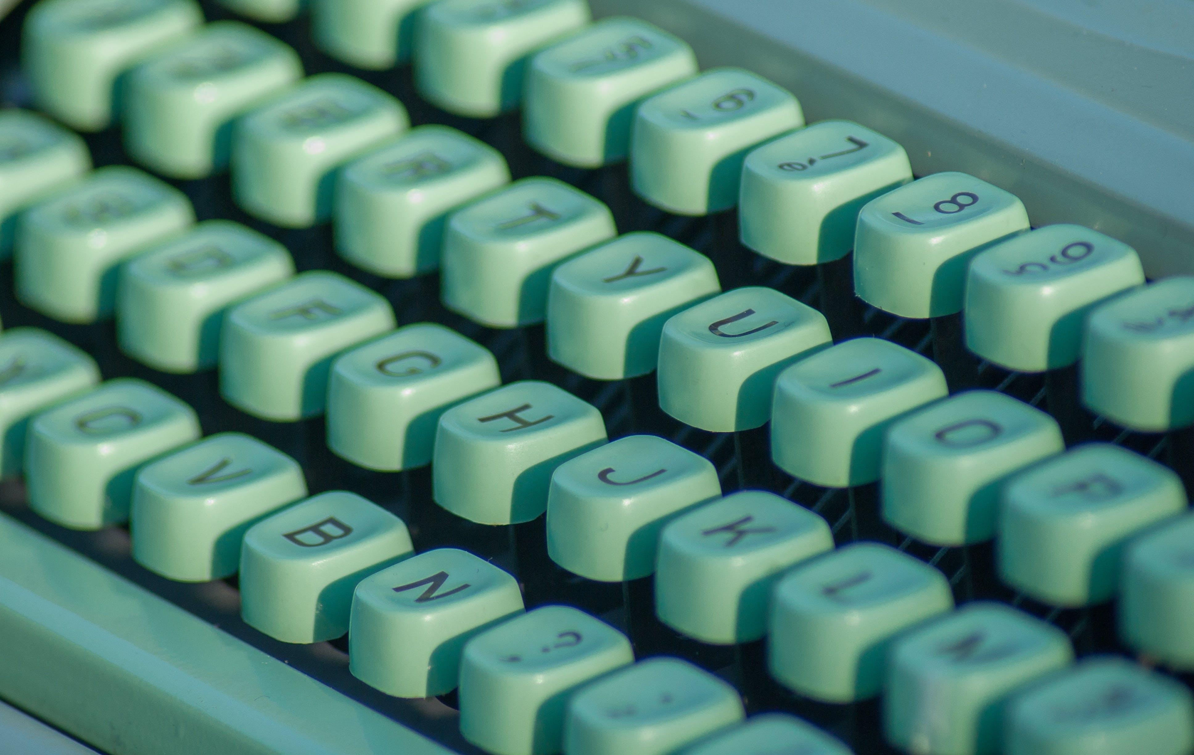Free stock photo of typewriter, secretary, letters, flea market