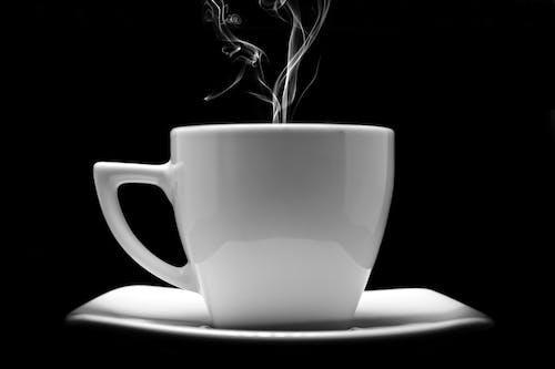 Základová fotografie zdarma na téma barva, čaj, černobílá, espreso