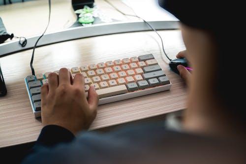 Free stock photo of clean, gaming, keyboard, mechanical keyboard