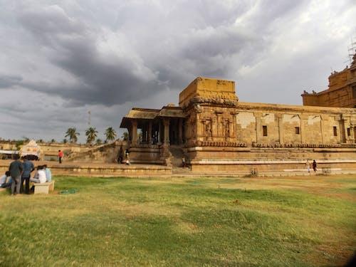Základová fotografie zdarma na téma chrám brihadeswara, hinduistický chrám, památka světového dědictví UNESCO, thanjavur