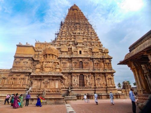 Základová fotografie zdarma na téma památka světového dědictví UNESCO, thanjavur, velký chrám