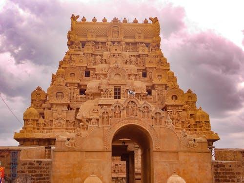 Základová fotografie zdarma na téma chrám brihadeswara, hinduismus, hinduistický, hinduistický chrám