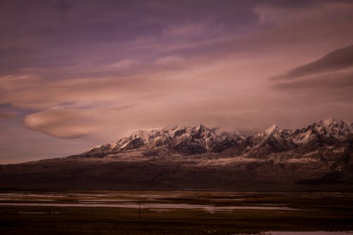 Landscape Photography of Mountain During Evening time
