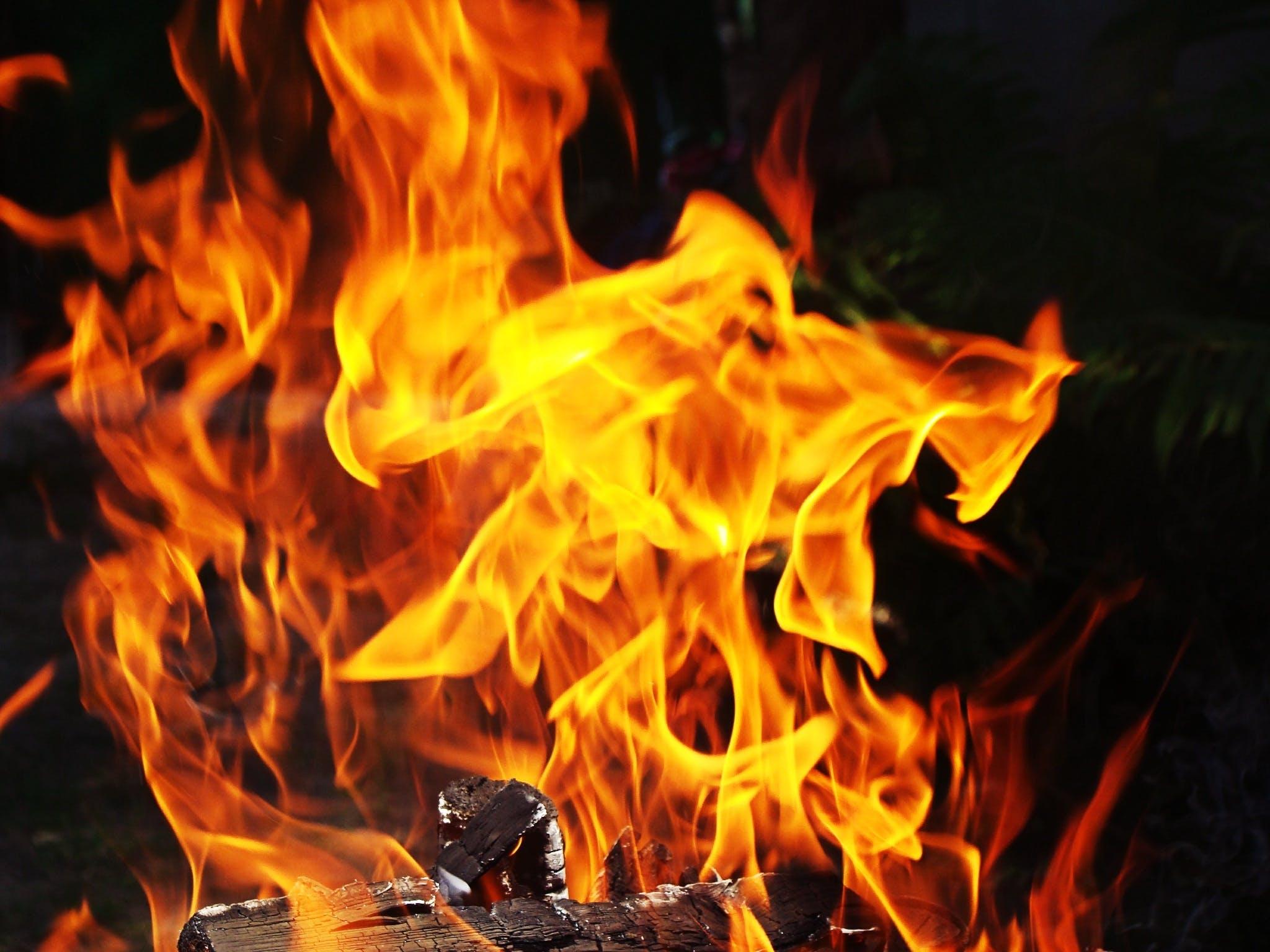 Free stock photo of fire, orange, yellow