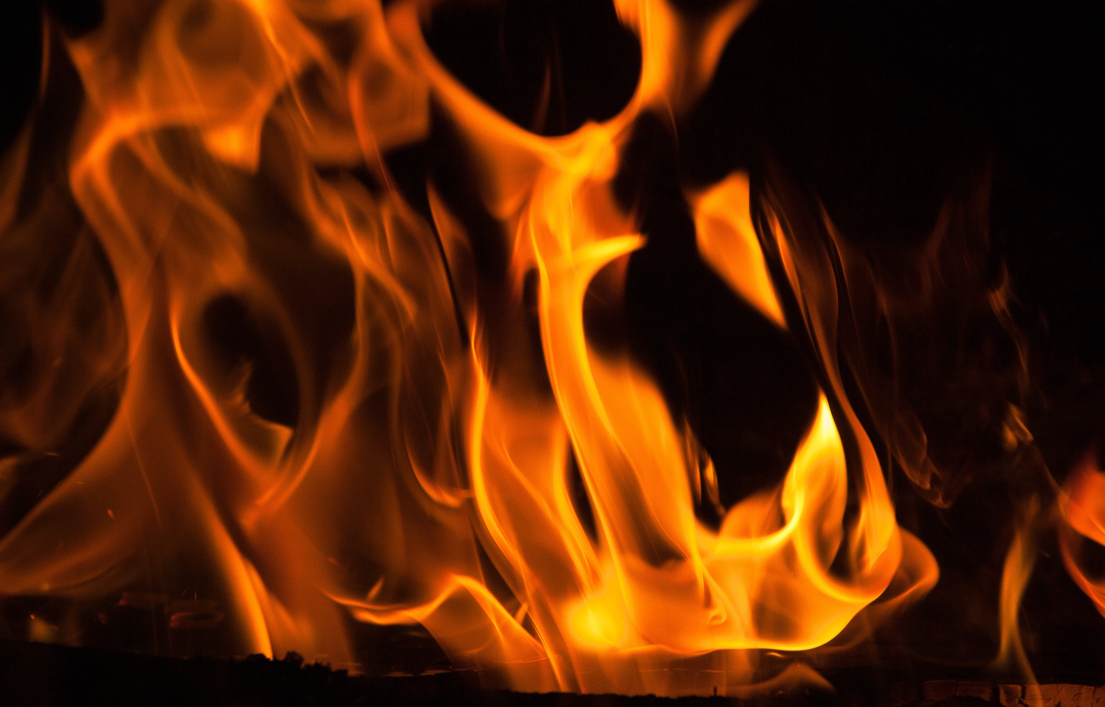 Free stock photo of fire, fireplace, flames, heat
