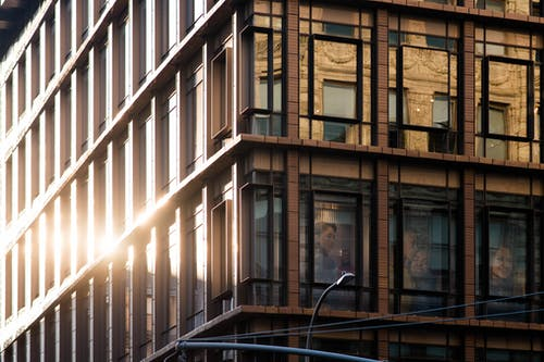 Free stock photo of building, modern architecture, reflections