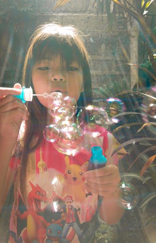 Foto profissional grátis de bolhas, fotografia de retrato, fotorrafia de bolhas, retrato