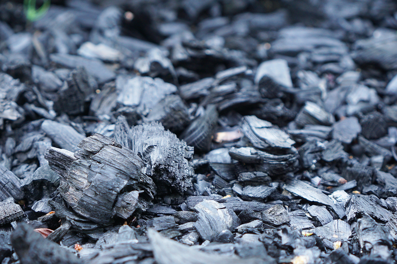 Close-up Photo of Coals