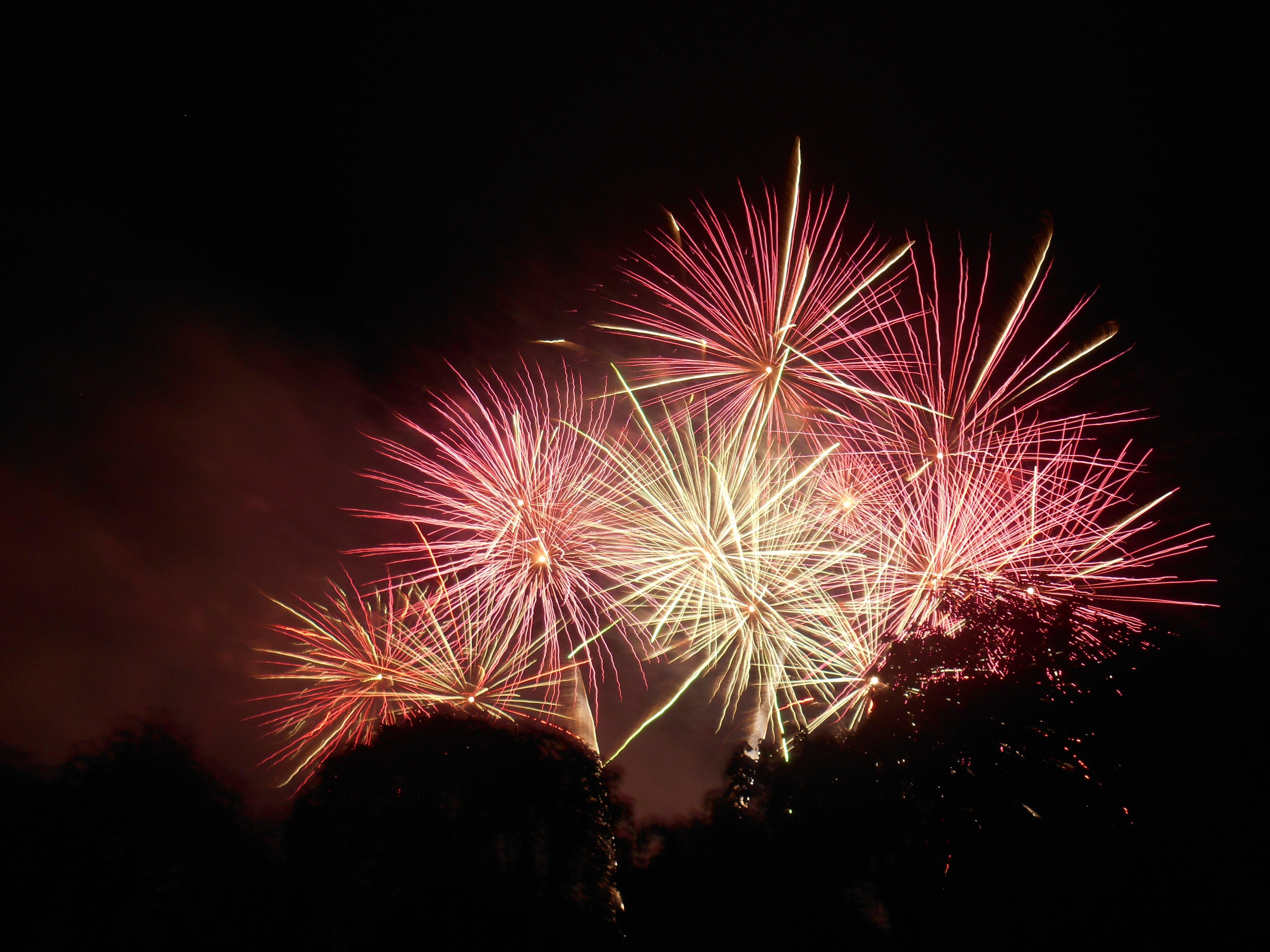 Kostnadsfri bild av blixt, explodera, explosion, färg