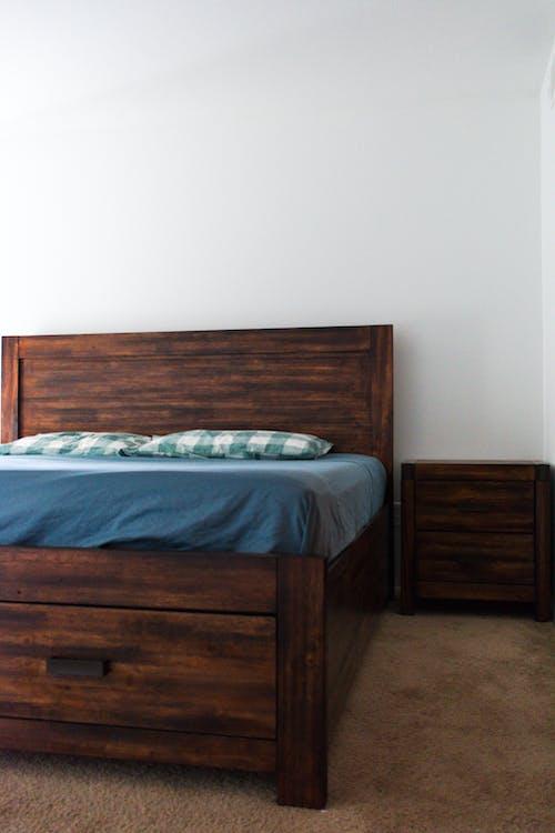 Ingyenes stockfotó ágy, hálószoba, minimalizmus témában