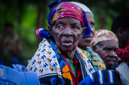 Free stock photo of 80-95 years old woman, African fashion, ankara, art