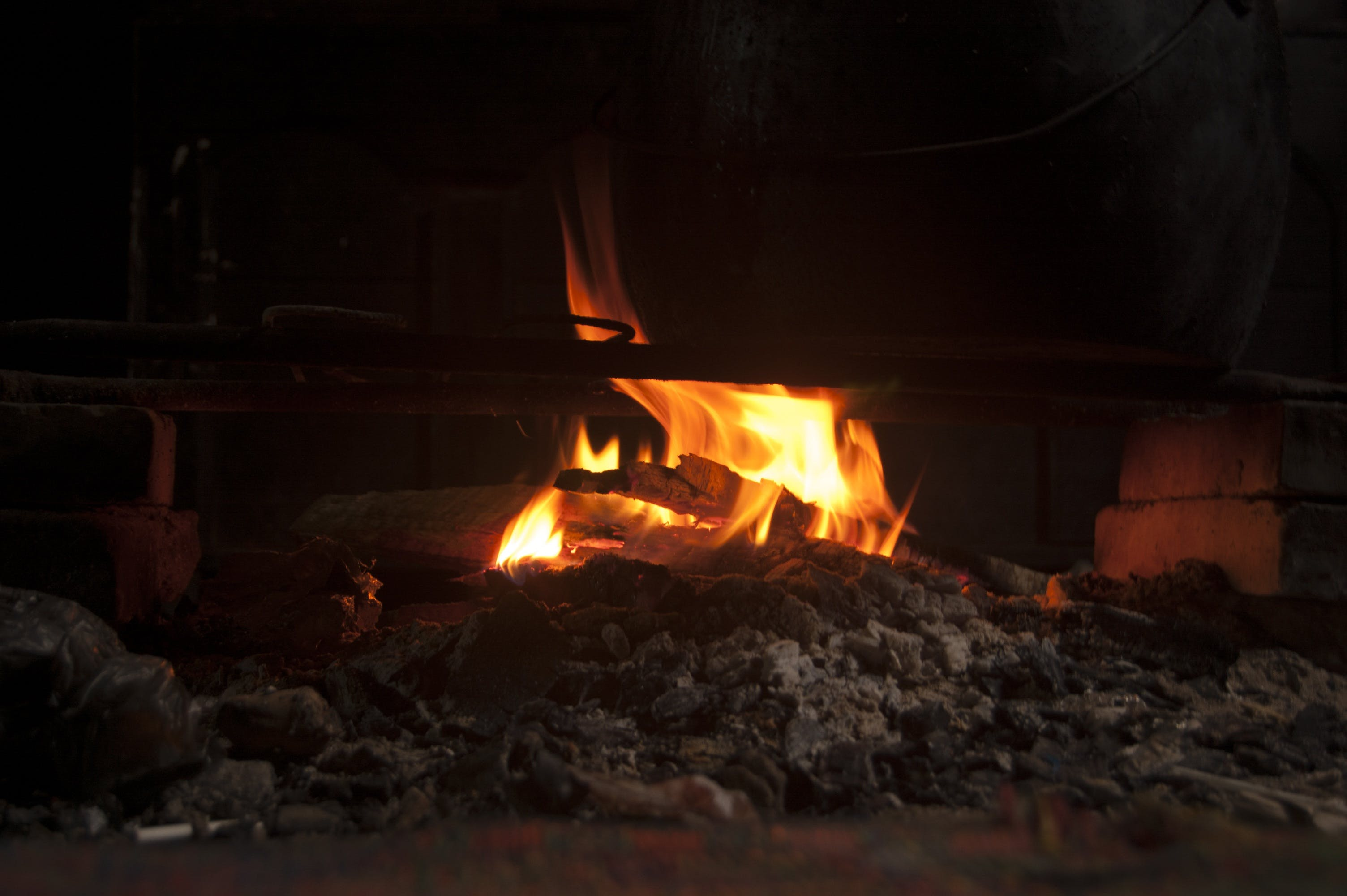 Free stock photo of light, fire, stove, ashes