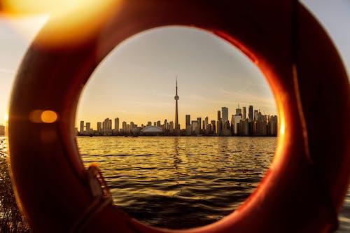 加拿大, 加拿大國家電視塔, 圓形, 塔 的 免费素材照片