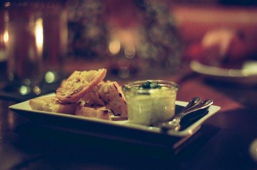 Gratis stockfoto met aperitief, aperitivo, baguette, eerste gang
