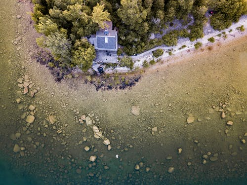 Free stock photo of house, island, lake, lake huron