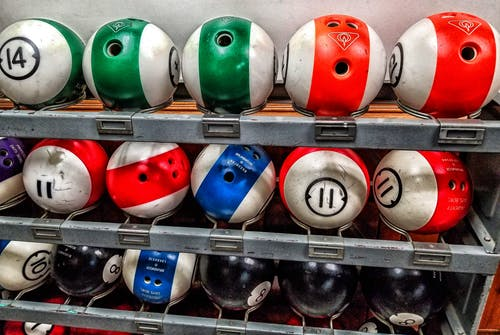 Free stock photo of bowling, bowling balls
