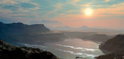 Základová fotografie zdarma na téma hora, idylický, krajina, mlha