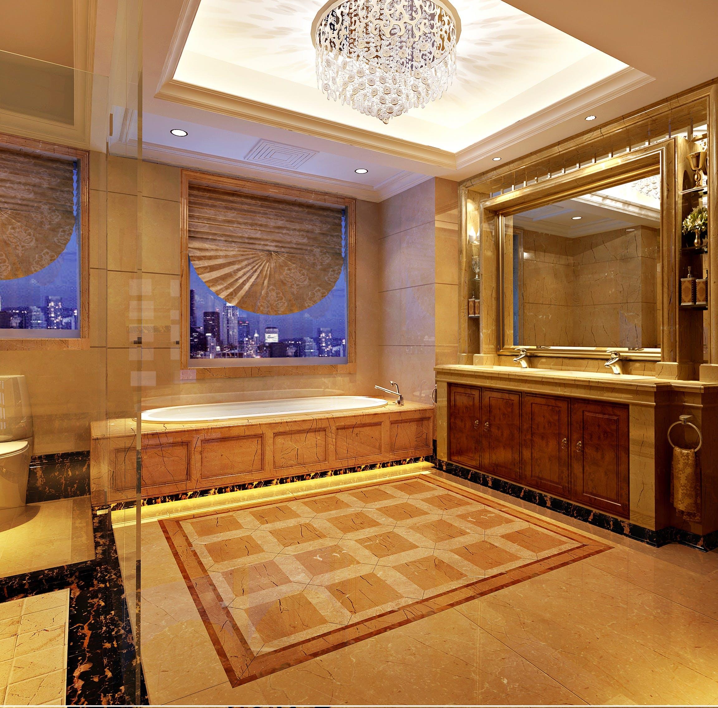 bathroom, household, marble