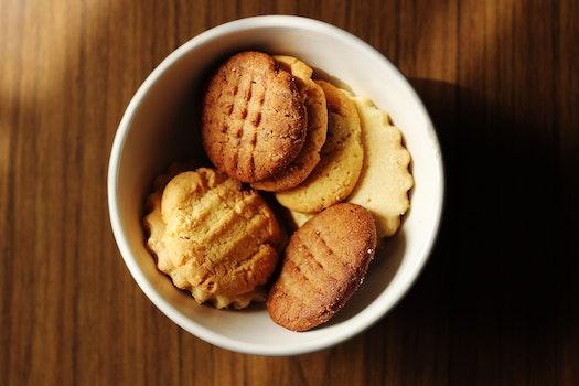 Free stock photo of food, wood, sugar, dessert
