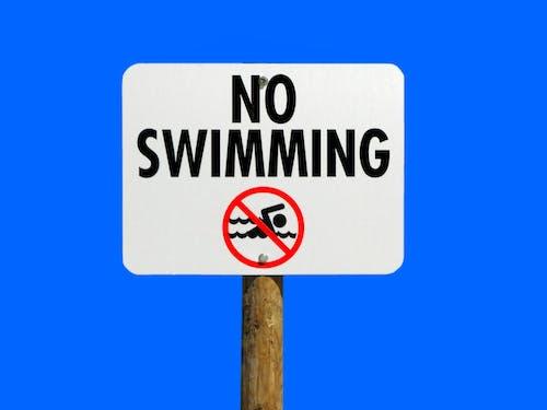 간판, 경고, 금지 된, 금지된의 무료 스톡 사진