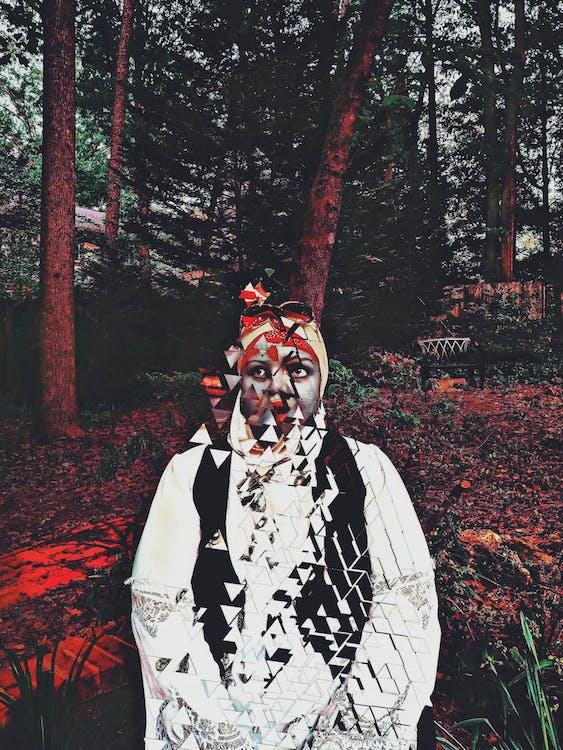 #americký, #dáma, #les