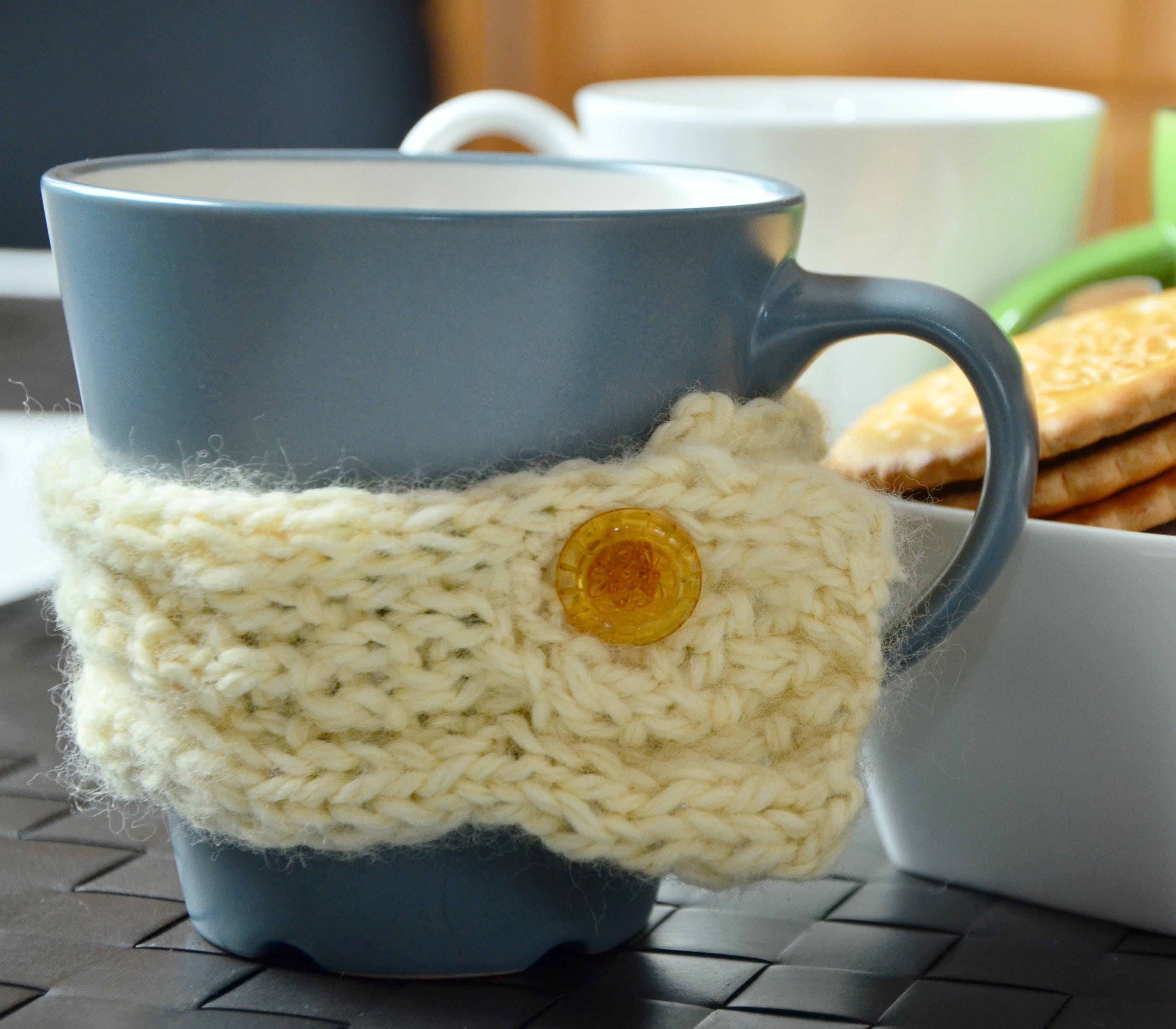 button, coffee break, coffee cup