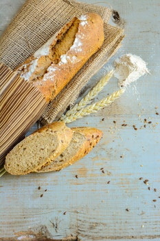 Free stock photo of bread, food, healthy, wood