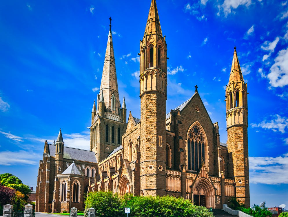 Photo of Sacred Heart Cathedral in Bendigo, Australia