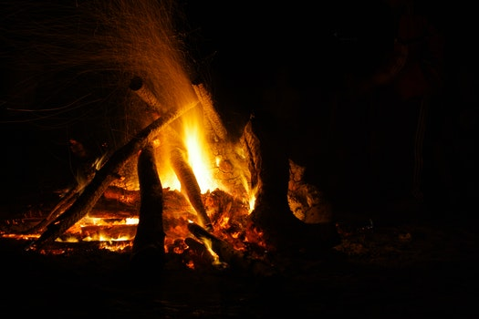 Free stock photo of outside, fire, campfire, warm