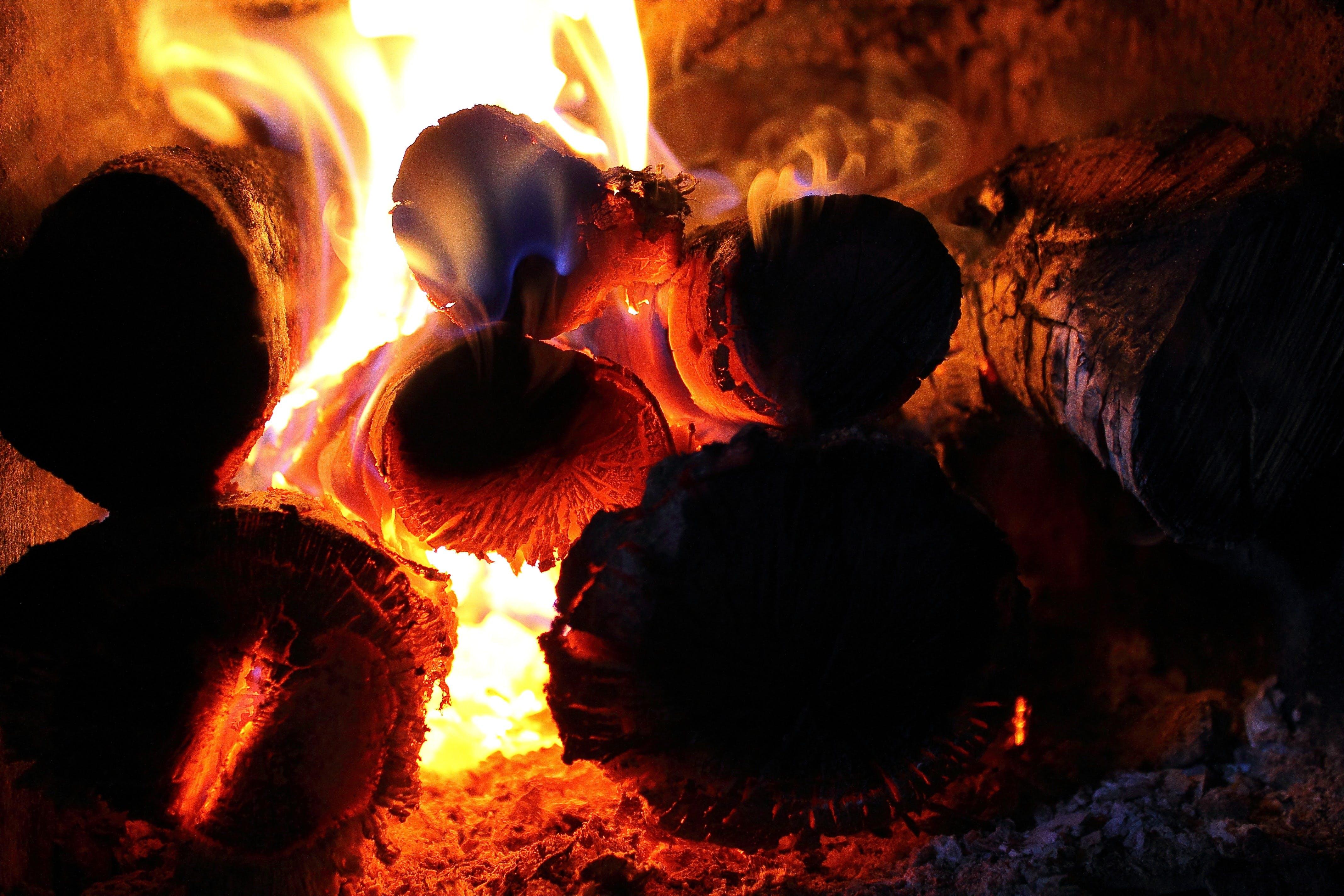 Kostnadsfri bild av bål, brand, brinnande, flamma