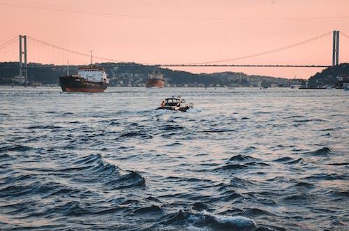 คลังภาพถ่ายฟรี ของ กลางวัน, การท่องเที่ยว, การเดินเรือ, คลื่น