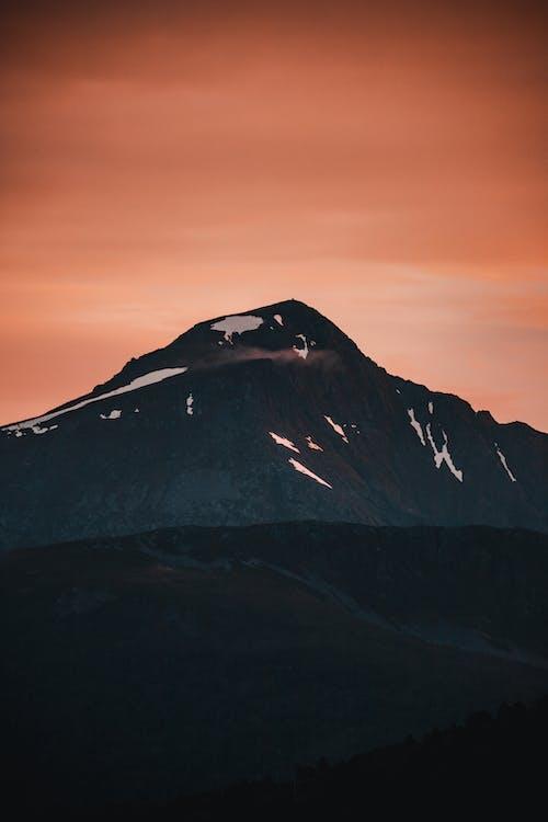 Δωρεάν στοκ φωτογραφιών με background, απόγευμα, αυγή, βουνό